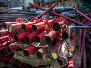 Трубы демонтаж
